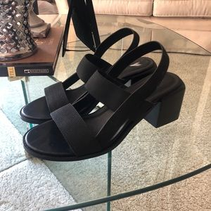 Urban Outfitters strappy block heel